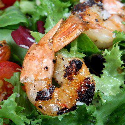 Scrumptious Grilled Shrimp